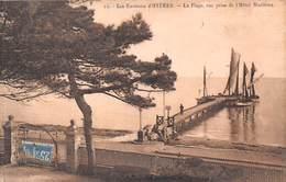 Hyères (83) - La Plage Vue Prise De L'Hôtel Maritima - Hyeres