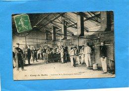 Boulangerie Militaire -gros Plan Animé-camp De Mailly-a Voyagé En 1908+édition Bazar Militaire - Autres