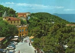 "4456 ""MONTENERO""ANIMATA-AUTO '60-CART. POST.ORIG. SPED 1976 - Livorno"