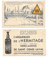BV46 - CHROMO ARQUEBUSE L'HERMITAGE DE SAINT GENIS LAVAL - CODE DE LA ROUTE - Chromos