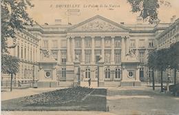 CPA - Belgique - Brussels - Bruxelles - Le Palais De La Nation - Monuments, édifices
