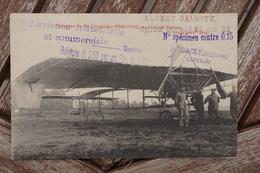 CPA - Monoplan De Mr. L'ingénieur MARCHAND - Camp De Casteau - ....-1914: Précurseurs