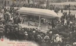 """CPA 54 (Meurthe Et Moselle)  LUNEVILLE / CAVALCADE DU 24 MAI 1914 / LE """" RESTE EN PANNE """" TOP ANIMATION - Luneville"""