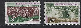 "Congo YT 252 & 253 "" Tourisme "" 1970 Neuf** - Congo - Brazzaville"