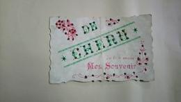 De Chenu Je Vous Envoie Mon Souvenir 1907 Paillettes - Autres Communes