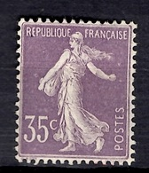 France YT N° 136 Neuf *. Gomme D'origine. B/TB. A Saisir! - Ungebraucht