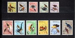 PAPOUASIE Nlle GUINEE N° 62 à 72 NEUFS AVEC CHARNIERES  COTE 55.00€ - Papouasie-Nouvelle-Guinée