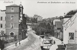 Repro Foto Dresden Loschwitz Grundstraße Drahtseilbahn Standseilbahn Villa Orlando A Blasewitz Weißer Hirsch Wachwitz - Repro's