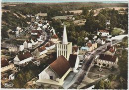 Calvados : BRETTEVILLE  Sur  LAIZE :  Vue  Générale  Aérienne ,l '  église - Francia