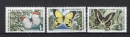 CENTRAFRICAINE Yt. 31/33 MNH** 1963 - Centrafricaine (République)