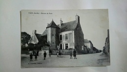 Vion Sarthe Bureau De Poste 1936 - Autres Communes