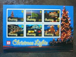 2001  Christmas  Lights ** MNH - Guernesey
