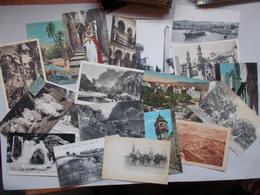 LOT DE 200 CPA ET CPSM D'ALGERIE - Postales