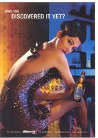 PROMOCARD N° 7629 BIRRA TIGER - Advertising