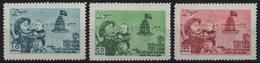 Vietnam 1955 - Mi-Nr. 23-25 (*) - Ohne Gummi Verausgabt - Befreiung Hanoi - Vietnam