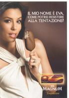 PROMOCARD N° 7320 MAGNUM ALGIDA - Advertising