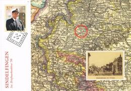 33237. Tarjeta Maxima NORGE, Noruega 1998. Dia Sello SINDELFINGEN (Germany Map) - Tarjetas – Máximo