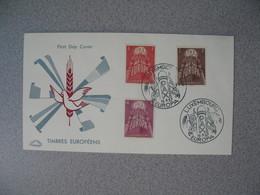 FDC  De Luxembourg  1957   N° 531 à 533  Europa    à Voir - FDC