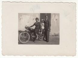 MOTO MOTORCYCLE NON IDENTIFICATA - PICCOLA FOTO ORIGINALE - Foto