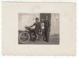 MOTO MOTORCYCLE NON IDENTIFICATA - PICCOLA FOTO ORIGINALE - Autres