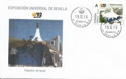 SPAIN. COVER. EXPO'92 SEVILLA. ISRAEL PAVILION - 1931-Hoy: 2ª República - ... Juan Carlos I