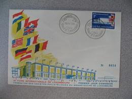 FDC Enveloppe  De Luxembourg  1958   N° 540  10 ème Foire Internationale De Luxembourg   à Voir - FDC