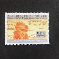 REPUBLIQUE DE GUINÉE. GREAT COMPOSERS. BERNSTEIN. 3R1605B - Other
