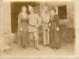 Robert Espagne Photo Souvenir De'un Court Bonheur Guerre 1914 - Autres Communes