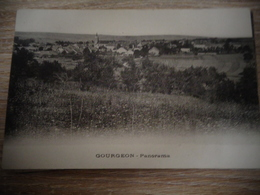 GOURGEON  PANORAMA - Autres Communes