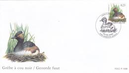 FDC Timbre N° 3546 -  Grèbe à Cou Noir  - Buzin - 1985-.. Vögel (Buzin)