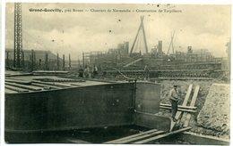 76 GRAND-QUEVILLY ++ Chantiers De Normandie - Construction De Torpilleurs ++ - Le Grand-Quevilly