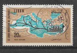 USED STAMP LEBANON - Liban