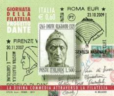 2011 - Giornata Della Filatelia Dante- 1v. Nuovi** - 6. 1946-.. Republik