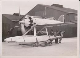 LATEST AIR WONDER SHORT BRISTOL SEAPLANE CRUSADER BRITAIN SCHNEIDER CUP VENICE  20*15 CM Fonds Victor FORBIN 1864-1947 - Aviación