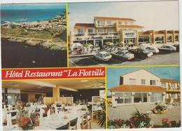 """Loire  Atlantique :  PREFAILLES : La  Pointe  St  Gildas , Hotel  Restaurant """" La  Flottille """" - Préfailles"""