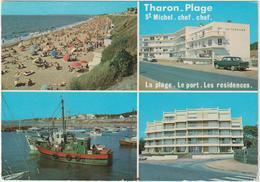 Loire  Atlantique :  Tharon  Plage , St  Michel  Chef  Chef  : Vues  1980 - Préfailles