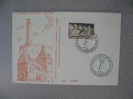 Enveloppe  De Luxembourg  1958  N° 551   Timbres Touristiques      à Voir - FDC
