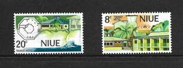 NIUE 1975 HOTELS  YVERT N°163/64 NEUF MNH** - Niue