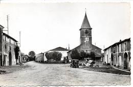 88 - OELLEVILLE - Place De L'Eglise  - Format 9X14 - Other Municipalities