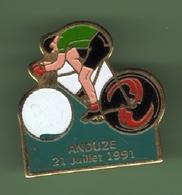 CYCLISME *** LE TOUR 91 - ANDUZE 21 Juillet 91 *** 1019 - Cycling