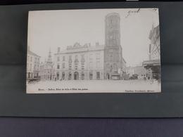 MENIN Beffroi Hôtel  De Ville Et Hôtel Des Postes 1902 - Menen