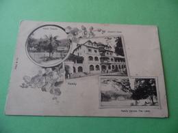 CPA  -   CEYLAN - Kandy >Temple  -  Sueen's Hôtel  -  Kandy (across The Lake) - Sri Lanka (Ceylon)