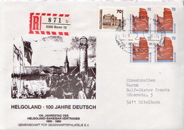 Postal History: Germany R Cover, Helgoland - [7] Federal Republic
