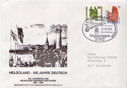 Postal History: Germany Cover, Helgoland - [7] Federal Republic