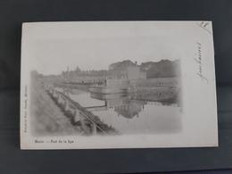 MENIN Pont De La Lys Obl 1902 - Menen