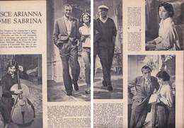 (pagine-pages)AUDREY HEPBURN   Epoca1956/312. - Libri, Riviste, Fumetti