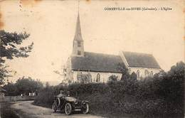 GONNEVILLE-sur-DIVES : L'eglise, Voiture - Tres Bon Etat - France