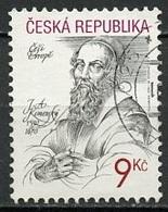 Tchéquie - Tschechien - Czech 2001 Y&T N°269 - Michel N°282 (o) - 9k J A Komensky - Tchéquie
