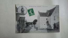 Vallon Sur Gée Grande Rue Hôtel Mongeau Café Bocher 1904 - Autres Communes