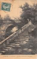 PIE.F19-6741 : SALON DE 1905. ESCALIER DE SAINTE-BARBE. MORBIHAN PAR G. DE LAUNAY - Pintura & Cuadros